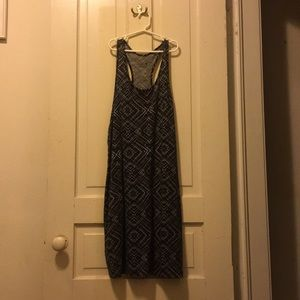 Patterned size large Smartwool Dress